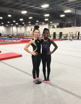 Everest Gymnastics - Savannah _ Amber